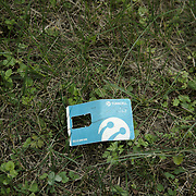 A Turkish sim card left behind by refugees in a wooden area across the Croatian border. A member of the ICR finds it as a evidence of being in the right track in being able to find to support refugees along the borders. Have they managed to cross? Do they need any assistance?