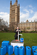 Alan Campbell MP. Marking World Water Day, over 40 MP's walked for water at Westminster, London at an event organised by WaterAid and Tearfund. Globally hundreds of thousands of people took part in the campaign to raise awareness of the world water crisis.