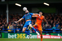 Football - 2019 / 2020 Emirates FA Cup - Third Round: Rochdale AFC vs. Newcastle United<br /> <br /> Aaron Wilbraham of Rochdale   at the Spotland Stadium (Crown Oil Arena).<br /> <br /> COLORSPORT/LYNNE CAMERON