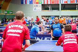 (Team SLO) SAYED MOAHMED Ahmed and TRTNIK Luka in action during 15th Slovenia Open - Thermana Lasko 2018 Table Tennis for the Disabled, on May 11, 2018 in Dvorana Tri Lilije, Lasko, Slovenia. Photo by Ziga Zupan / Sportida
