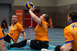 20-04-2019 NED: Dirk Kuyt Foundation Cup, Veenendaal<br /> National Cup sitting volleyball in Veenendaal / BVC Holyoke