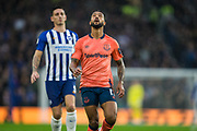 Theo Walcott (Everton) during the Premier League match between Brighton and Hove Albion and Everton at the American Express Community Stadium, Brighton and Hove, England on 26 October 2019.