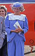 PRINCESS DIANA'S 2ND PREGNANCY - VISITS SWINDON, LESS THAN 3 MONTHS TO PRINCE HARRY'S BIRTH.PHOTO CREDIT MANDATORY!!: ©FRANCIS DIAS/NEWSPIX INTERNATIONAL..*ALL FEES PAYABLE TO: NEWSPIX INTERNATIONAL*..PHOTO CREDIT MANDATORY: ©FRANCIS DIAS/NEWSPIX INTERNATIONAL  (Failure to by-line the photograph will result in an additional 100% reproduction fee surcharge)..IMMEDIATE CONFIRMATION OF USAGE REQUIRED:Tel:+441279 324672/ Fax: +441279 656877.Mobile: +447775681153.NEWSPIX INTERNATIONAL, 31 Chinnery Hill, Bishop's Stortford, ENGLAND CM23 3PS.e-mail: info@newspixinternational.co.uk