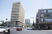 Israel, Tel Aviv, Dizengoff and ibn Gabirol junction
