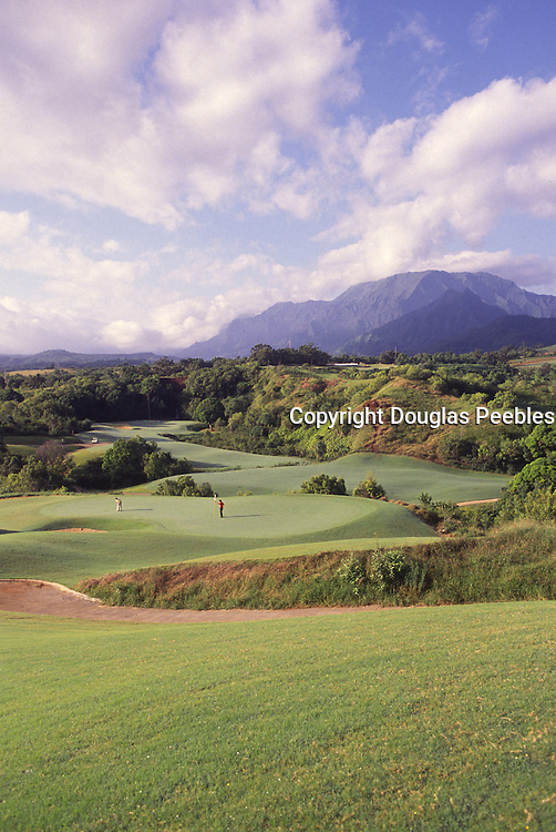 Prince Golf Course, Princeville, Kauai, Hawaii<br />