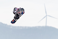 19.02.2018, Alpensia Ski Jumping Centre, Pyeongchang, KOR, PyeongChang 2018, Snowboard, Damen, Big Air, im Bild Klaudia Medlova (SVK) // Klaudia Medlova of Slovakia during the Ladies Snowboard Big Air of the Pyeongchang 2018 Winter Olympic Games at the Alpensia Ski Jumping Centre in Pyeongchang, South Korea on 2018/02/19. EXPA Pictures © 2018, PhotoCredit: EXPA/ Johann Groder