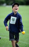 Cricket fan at the National Bank's Cricket Super Camp , University oval, Dunedin, New Zealand. Thursday 2 February 2012 . Photo: Richard Hood photosport.co.nz