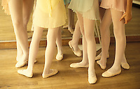 ballet class for pre-teens in Paris- Photograph by Owen Franken