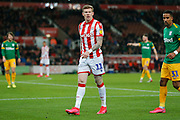 Stoke City midfielder James McClean in action during the EFL Sky Bet Championship match between Stoke City and Preston North End at the Bet365 Stadium, Stoke-on-Trent, England on 12 February 2020.