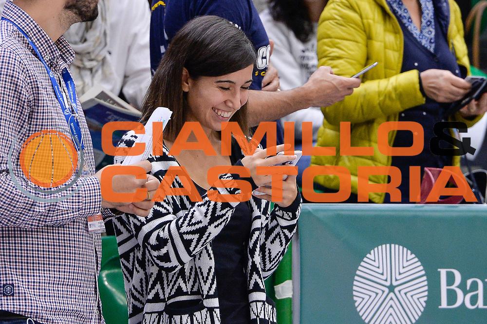 DESCRIZIONE : Beko Legabasket Serie A 2015- 2016 Dinamo Banco di Sardegna Sassari - Enel Brindisi<br /> GIOCATORE : Eleonora Cherchi<br /> CATEGORIA : Before Pregame Ritratto<br /> SQUADRA : Dinamo Banco di Sardegna Sassari<br /> EVENTO : Beko Legabasket Serie A 2015-2016<br /> GARA : Dinamo Banco di Sardegna Sassari - Enel Brindisi<br /> DATA : 18/10/2015<br /> SPORT : Pallacanestro <br /> AUTORE : Agenzia Ciamillo-Castoria/L.Canu