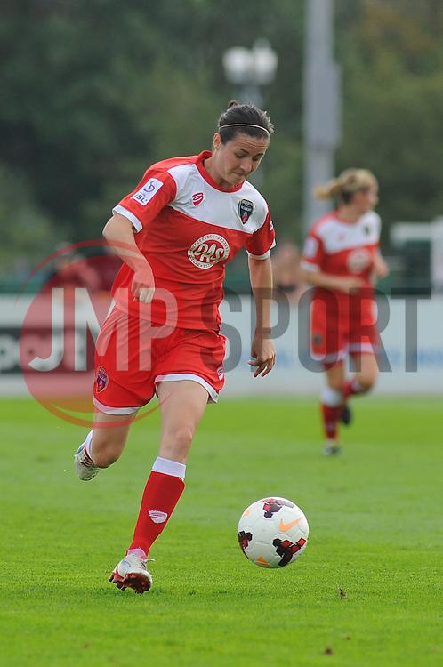 Bristol Academy Womens' Natalia Pablos Sanchon in action.- Photo mandatory by-line: Nizaam Jones- Mobile: 07583 387221 - 28/09/2014 - SPORT - Women's Football - Bristol - SGS Wise Campus - BAWFC v Man City Ladies - sport