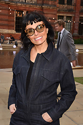 Norma Kamali at the Victoria & Albert Museum's Summer Party in partnership with Harrods at The V&A Museum, Exhibition Road, London, England. 20 June 2018.