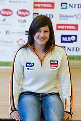 Tina Robnik of Slovenian Alpine Ski Team before new season 2008/2009, on Septembra 25, 2008, Ljubljana, Slovenia. (Photo by Vid Ponikvar / Sportal Images)