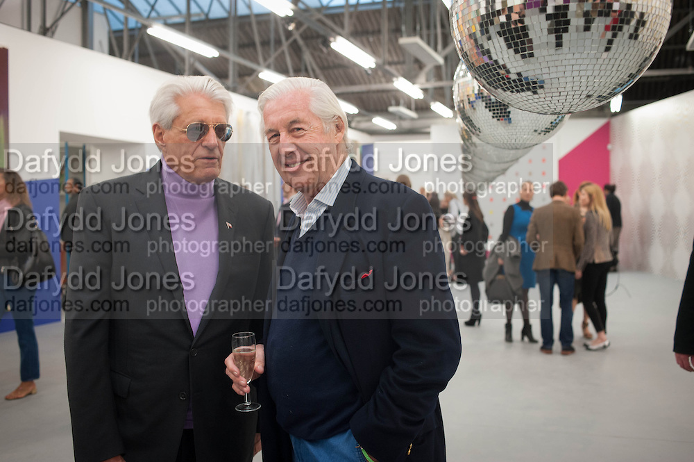 GERT RUDOLPH FLICK; MARTIN SUMMERS, Opening of Dairy with Quicksand- John M. Armleder. Dairy art Centre. ~Bloomsbury. 24 April 2013.