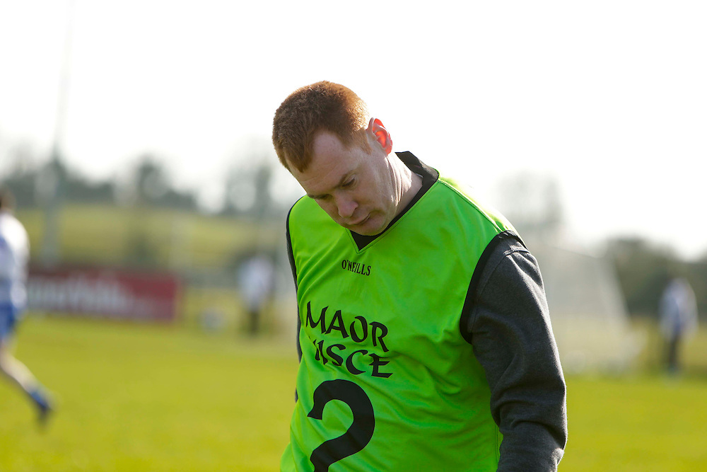 SFC at Trim, April 10th 2016.<br /> Navan O`Mahonys vs Moynalvey<br /> Moynalvey manager, Denis O`Shea<br /> Photo: David Mullen /www.cyberimages.net / 2016