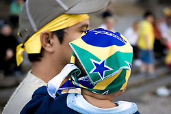 Copa do Mundo, dia de jogo entre Brasil e Chile./ World Cup day match between Brazil and Chile. Sao Paulo, BRasil - 2010
