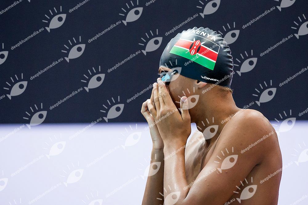 MUHOHO Oliver Michael Muritu KEN<br /> 100 Backstroke Men Heats<br /> Day01 25/08/2015 - OCBC Aquatic Center<br /> V FINA World Junior Swimming Championships<br /> Singapore SIN  Aug. 25-30 2015 <br /> Photo A.Masini/Deepbluemedia/Insidefoto