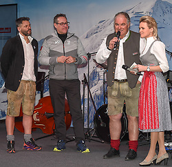 18.02.2018, Austria House, Pyeongchang, KOR, PyeongChang 2018, Medaillenfeier, im Bild Saalbach Abend, v.l. Heinz Christian Strache, Alexandra Meissnitzer // during a medal celebration of the Pyeongchang 2018 Winter Olympic Games at the Austria House in Pyeongchang, South Korea on 2018/02/18. EXPA Pictures © 2018, PhotoCredit: EXPA/ Erich Spiess