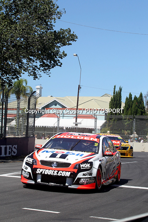 Garth Tander (Holden Racing Team). 2014 Clipsal 500 Adelaide ~ V8 Supercar Series Race 1 held on the Adelaide Parklands Circuit, South Australia on Saturday 1 March 2014. Photo: Clay Cross / photosport.co.nz