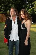 Alice Temperley and Lars von Bennigsen, The Summer Party in association with Swarovski. Co-Chairs: Zaha Hadid and Dennis Hopper, Serpentine Gallery. London. 11 July 2007. <br /> -DO NOT ARCHIVE-© Copyright Photograph by Dafydd Jones. 248 Clapham Rd. London SW9 0PZ. Tel 0207 820 0771. www.dafjones.com.