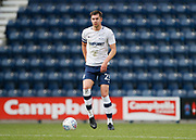 Paul Huntington of Preston North End during the EFL Sky Bet Championship match between Preston North End and Millwall at Deepdale, Preston, England on 23 September 2017. Photo by Paul Thompson.