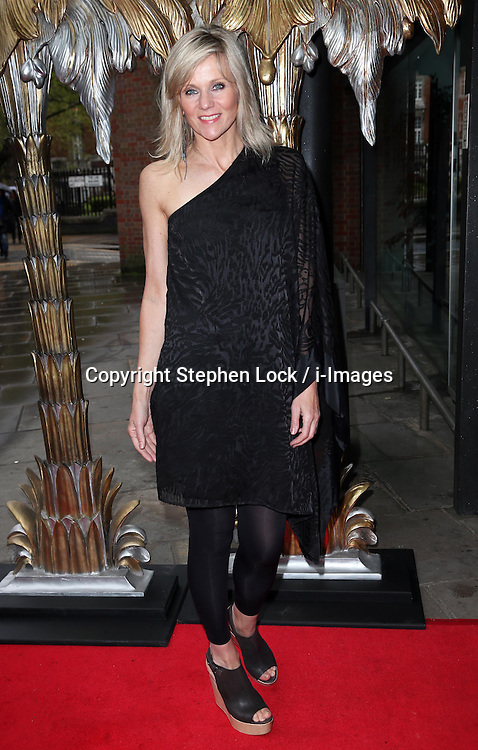 Linda Barker arriving at a special ballet version of The Great Gatsby at the  Sadler's Wells Theatre in London, Tuesday, 14th May 2013.  Photo by: Stephen Lock / i-Images