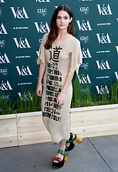 Sai Bennett attending the VIP preview for the V&A Museum's Fashioned From Nature exhibition, in London. Photo credit should read: Doug Peters/EMPICS Entertainment
