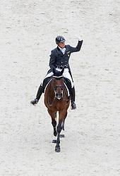 Tong Roland, (IRL), Pompidou - Grand Prix Team Competition Dressage - Alltech FEI World Equestrian Games™ 2014 - Normandy, France.<br /> © Hippo Foto Team - Leanjo de Koster<br /> 25/06/14