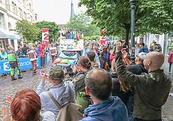 02.07.2017, Duesseldorf, GER, Tour de France, 2. Etappe von Düsseldorf (GER) nach Lüttich (BEL/203 km), im Bild Werbekarawane // advertising caravan during Stage 2 from Duesseldorf (GER) to Luettich (BEL/203 km) of the 2017 Tour de France in Duesseldorf, Germany on 2017/07/02. EXPA Pictures © 2017, PhotoCredit: EXPA/ Martin Huber