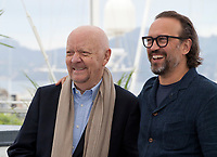Director Jean-Paul Rappeneau<br /> and Actor Vincent Lacoste at the Cyrano De Bergerac film photo call at the 71st Cannes Film Festival, Monday 14th May 2018, Cannes, France. Photo credit: Doreen Kennedy