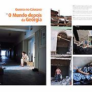"""""""Guerra no Caucaso: o Mundo depois da Georgia"""" in A23 Magazine"""