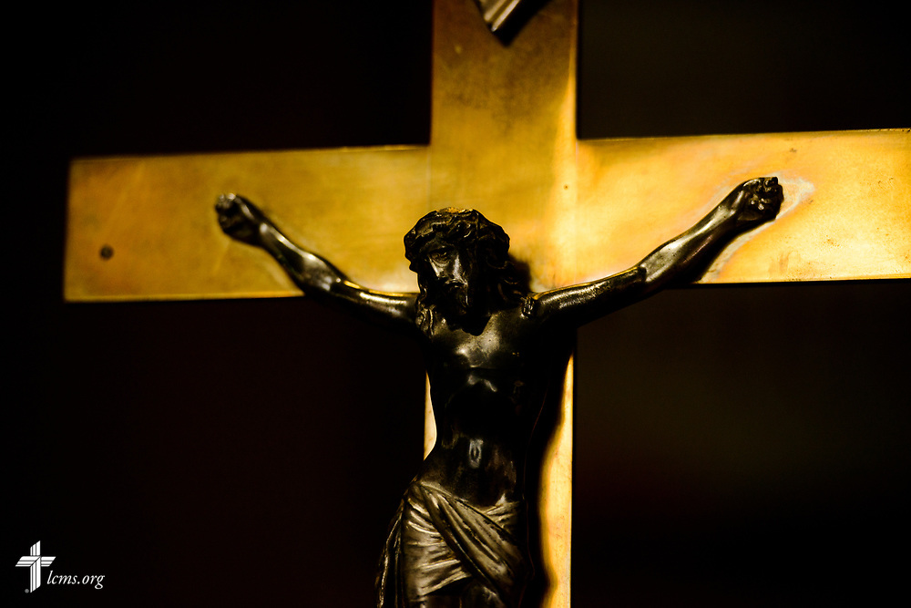 The crucifix at Zion Lutheran Church, Worms, Neb., on Saturday, Sept. 23, 2017. LCMS Communications/Erik M. Lunsford