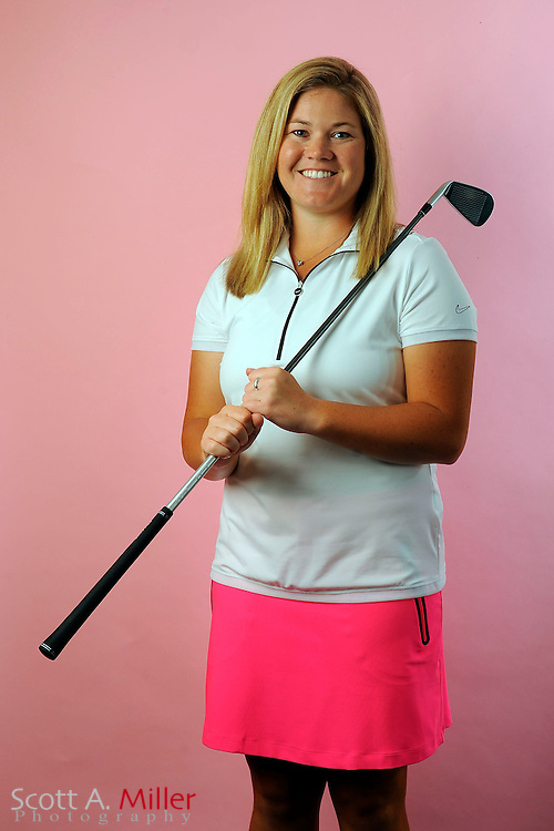 Brittany Kelly during a portrait shoot prior to the Symetra Tour's Florida's Natural Charity Classic at the Lake Region Yacht and Country Club on March 19, 2012 in Winter Haven, Fla. ..©2012 Scott A. Miller.