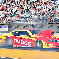 Kurt Busch at Full throttle drag racing series, National Hot Rod Association 2011