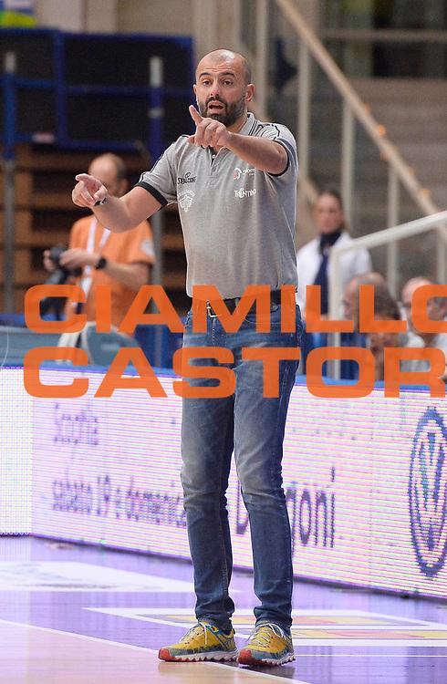 DESCRIZIONE : Trento Lega A 2015-2016 Memorial Brusinelli Dolomiti Energia Aquila Basket Trento Upea Capo d'Orlando<br /> GIOCATORE : Maurizio Buscaglia<br /> SQUADRA : Dolomiti Energia Trento <br /> EVENTO : Campionato Lega A 2014-2015 Precampionato<br /> GARA : Dolomiti Energia Trento Upea Capo d'Orlando provvisorio<br /> DATA : 19/09/2015<br /> CATEGORIA : ritratto coach<br /> SPORT : Pallacanestro<br /> AUTORE : Agenzia Ciamillo-Castoria/R.Morgano<br /> GALLERIA : Lega Basket A 2015-2016<br /> FOTONOTIZIA : Trento Lega A 2015-2016 Memorial Brusinelli Dolomiti Energia Aquila Basket Trento Upea Capo d'Orlando Precampionato<br /> PREDEFINITA :