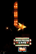 Old stores signs on South Congress Avenue in Austin, Texas