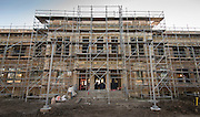 Construction at Milby High School, October 13, 2016.