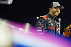 November 16, 2018 - Homestead, Florida, U.S. - Matt DiBenedetto (32) hangs out on pit road before qualifying for the Ford 400 at Homestead-Miami Speedway in Homestead, Florida. (Credit Image: © Chris Owens Asp Inc/ASP)