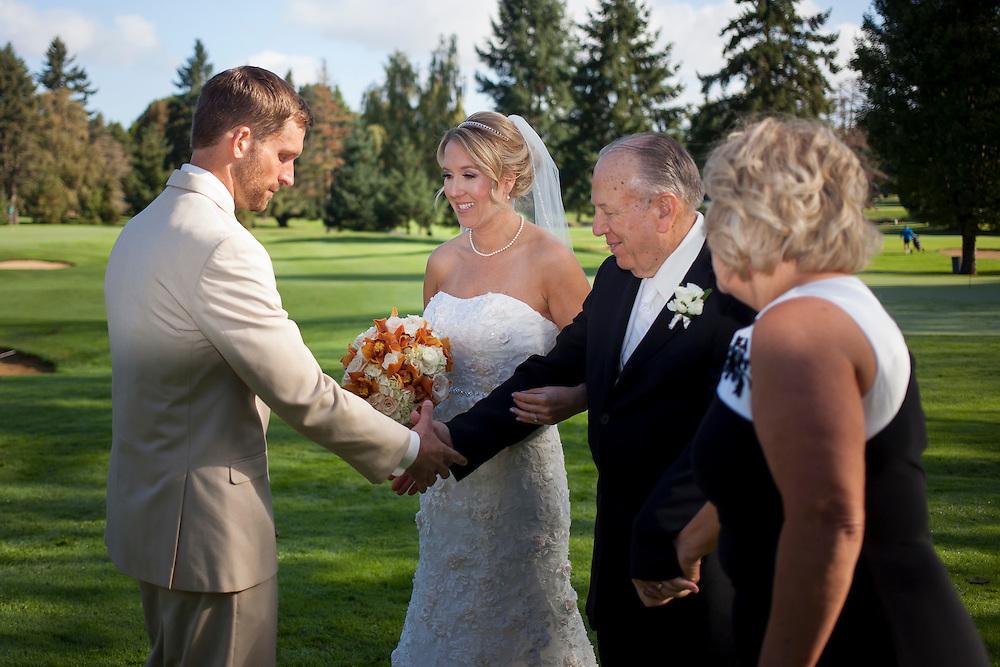 K and J Wedding