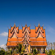 Wat WangWiwekaram in Sangkhlaburi in the north of Kanchanaburi province, Thailand.