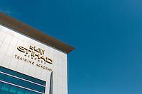 ABU DHABI, UAE - FEBRUARY 8, 2015: Etihad Airways Training Academy.
