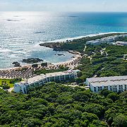 Aerial view of the Grand Sirenis Riviera Maya Resort. Mexico.