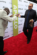 13 June 2011- Harlem, NY- l to r: Wyclef Jean and Sinbad at the 2011 Annual Apollo Spring Gala honoring Stevie Wonder held at the Apollo Theater on June 13, 2011 in Harlem, New York City. Photo Credit: Terrence Jennings
