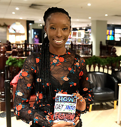 "Supermodel, DJ and presenter Eunice Olumide OBE launches her new book ""How To Get Into Fashion"" at Waterstones in her home city of Edinburgh.<br /> <br /> Eunice was born in Wester Hailes<br /> <br /> Pictured: Eunice Olumide OBE<br /> <br /> Alex Todd 