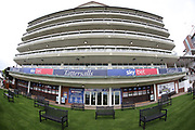 The County Stand prior to the York Dante Meeting at York Racecourse, York, United Kingdom on 16 May 2018. Picture by Mick Atkins.