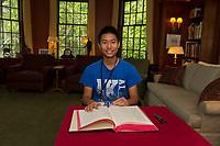 St Pauls School book signing at the Rectory.  ©2019 Karen Bobotas Photographer