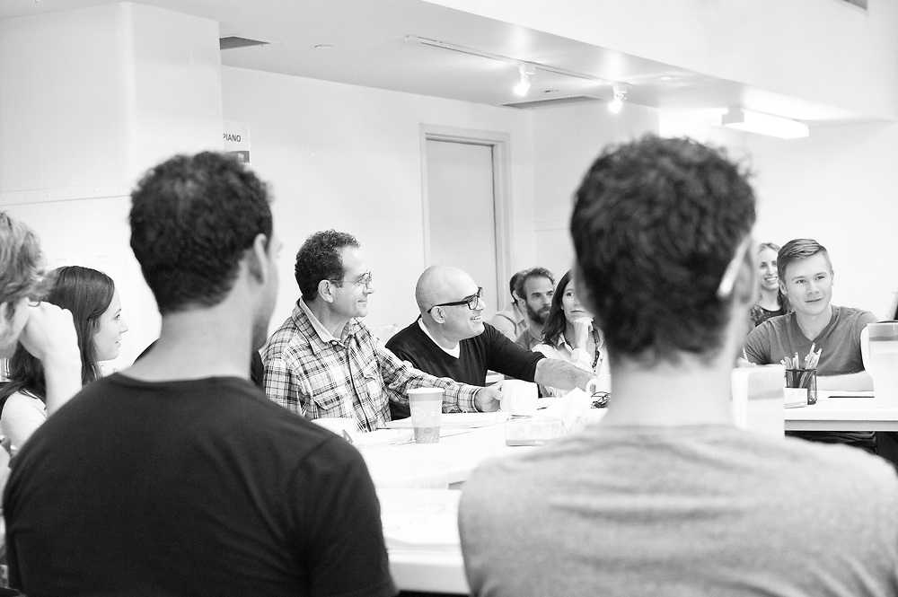 Tony Shalhoub & David Yazbek: The Band's Visit - Behind the scenes and Production photos from the original Atlantic Theater Company Off Broadway production