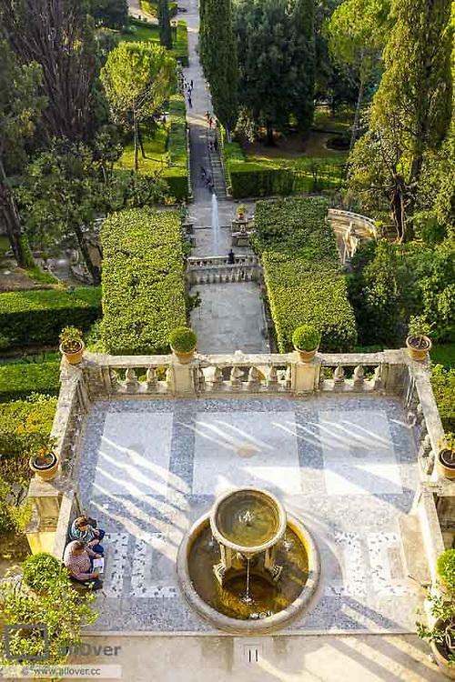 Villa d Este, Tivoli, Latium, Italy, UNESCO World Heritage Site
