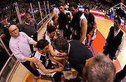 DESCRIZIONE : Reggio Emilia Lega A 2012-13 Trenkwalder Reggio Emilia Juvecaserta <br /> GIOCATORE : Coach Stefano Sacripanti e Marco Mordente<br /> SQUADRA :  Juvecaserta <br /> EVENTO : Campionato Lega A 2012-2013<br /> GARA :  Trenkwalder Reggio Emilia Juvecaserta <br /> DATA : 13/01/2013<br /> CATEGORIA : Coach Fair Play<br /> SPORT : Pallacanestro<br /> AUTORE : Agenzia Ciamillo-Castoria/A.Giberti<br /> Galleria : Lega Basket A 2012-2013<br /> Fotonotizia : Reggio Emilia Lega A 2012-13 Trenkwalder Reggio Emilia Juvecaserta <br /> Predefinita :