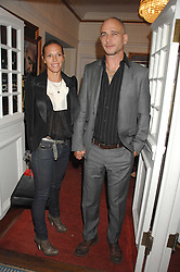 DINOS & TIPHAINE CHAPMAN at the Grand Classics screening of the film 'Don't Look Now' sponsored by Motorola held at The Electric Cinema, 181 Portobello Road, London W11 on 24th September 2007. <br /><br />NON EXCLUSIVE - WORLD RIGHTS